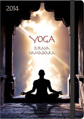 yoga surya namaskar  2014 agenda calendars at