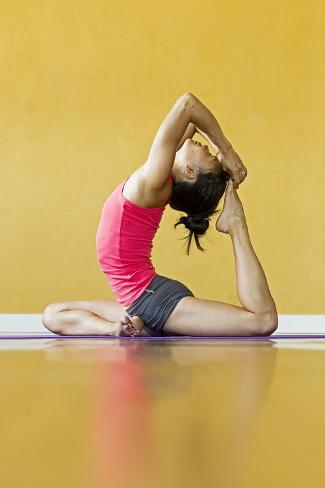one legged king pigeon pose or eka pada raja kapotasana