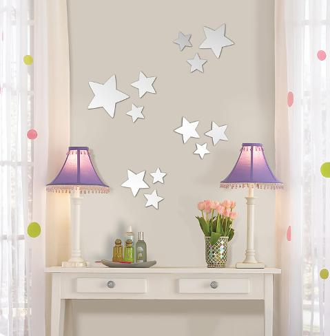 Stars Wall Mirror Decal Sticker Wall Decal at AllPosters.com