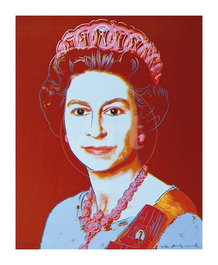 Reigning Queens Queen Elizabeth Ii Of The United Kingdom C 1985 Blue Face