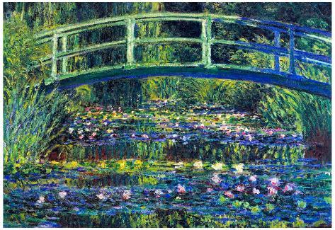 Claude Monet Water Lily Pond 2 Art Print Poster Masterprint At AllPosters