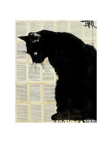 Black Cat Posters By Loui Jover At Allposters Com