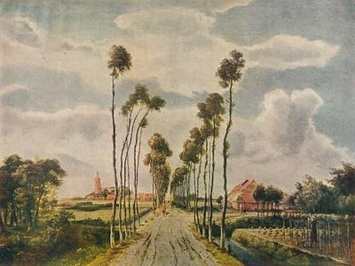 The Avenue At Middelharnis 1689 Giclee Print Meindert Hobbema Allposters Com