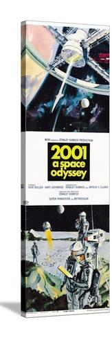 2001: A Space Odyssey, US poster, 1973 Toile tendue sur châssis
