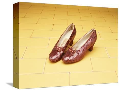A Pair of Ruby Slippers Worn by Judy Garland in the 1939 MGM film