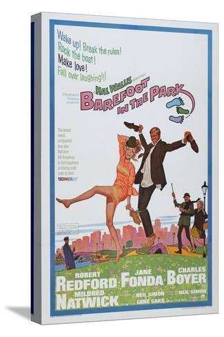 Barefoot in the Park, 1967 Toile tendue sur châssis