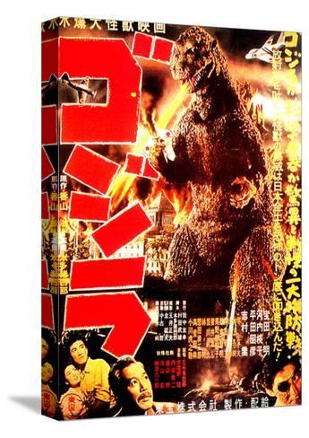 Godzilla, (AKA Gojira), 1954 Toile tendue sur châssis
