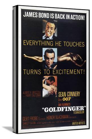 Goldfinger Toile tendue sur châssis