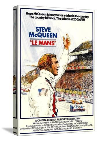 Le Mans, Steve McQueen, 1971 Toile tendue sur châssis