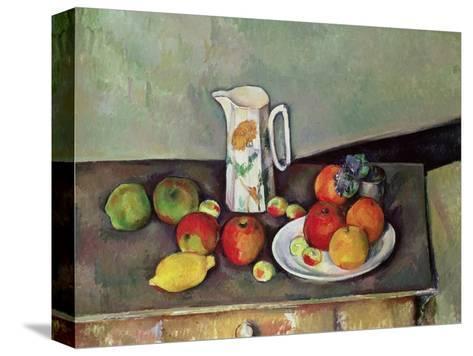 Nature morte - Pot à lait et fruits, vers 1886-90 Toile tendue sur châssis