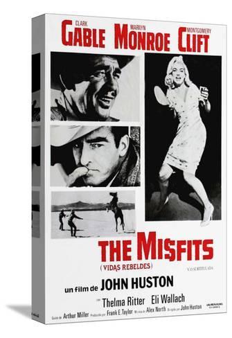 The Misfits, 1961 Toile tendue sur châssis