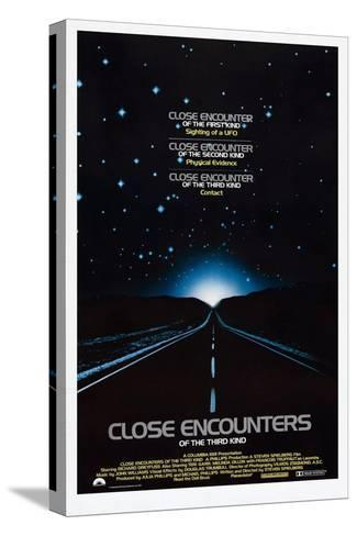 Close Encounters of the Third Kind, 1977 Trykk på strukket lerret