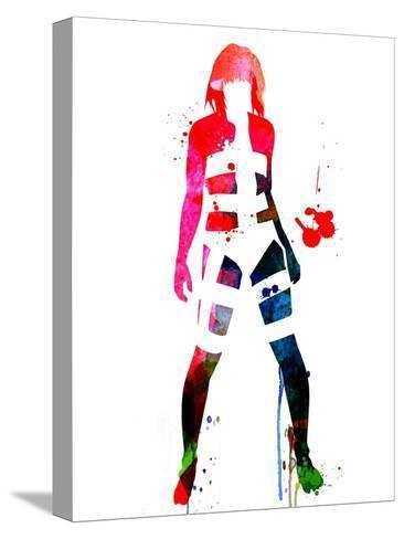 Leeloo Watercolor Opspændt lærredstryk