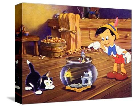 Pinocchio, 1940 Trykk på strukket lerret