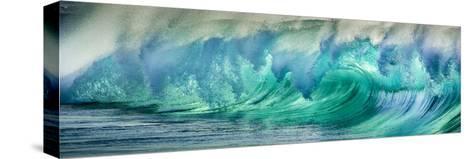Wave Photo at Papohaku Beach, West End, Molokai, Hawaii Trykk på strukket lerret