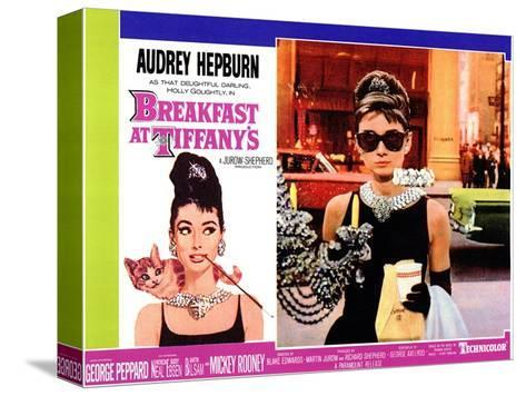 Breakfast At Tiffany's, 1961 Kunst op gespannen canvas