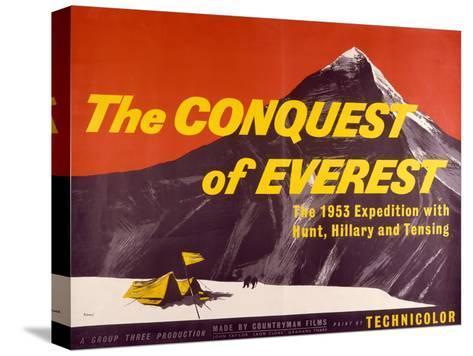 Conquest of Everest (The) Bedruckte aufgespannte Leinwand