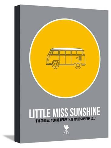 Miss Sunshine Kunst op gespannen canvas