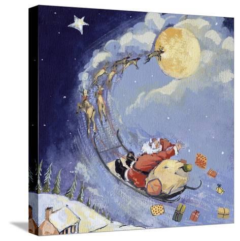 Christmas Night, 1999 Bedruckte aufgespannte Leinwand