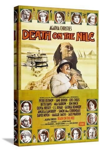 Death on the Nile, 1978 Bedruckte aufgespannte Leinwand