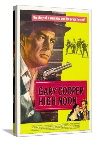 High Noon, 1952, Directed by Fred Zinnemann Bedruckte aufgespannte Leinwand