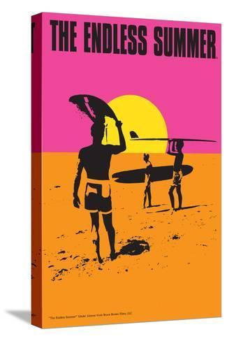 The Endless Summer - Original Movie Poster Bedruckte aufgespannte Leinwand