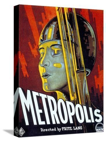 Metropolis, 1927, Directed by Fritz Lang Bedruckte aufgespannte Leinwand