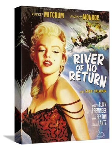 River of No Return, 1954 Kunst op gespannen canvas