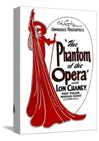 THE PHANTOM OF THE OPERA, 1925. Bedruckte aufgespannte Leinwand
