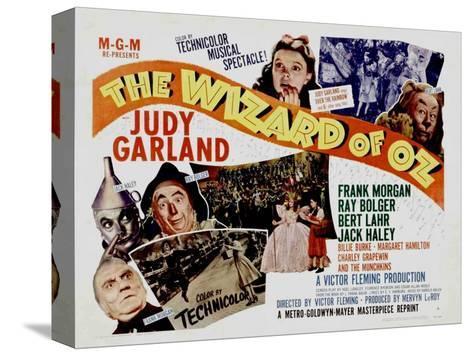 The Wizard of Oz, 1939 Bedruckte aufgespannte Leinwand