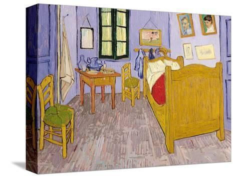 Van Goghs Schlafzimmer in Arles, 1889 Bedruckte aufgespannte ...