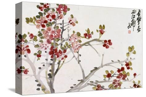 Flowers, 1910 Kunst op gespannen canvas