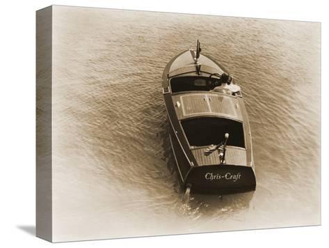1932 Chris-Craft Runabout Reproducción de lámina sobre lienzo