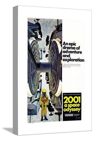 2001: A Space Odyssey, 1968 Sträckt kanvastryck