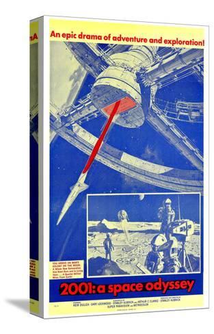 2001: a Space Odyssey Sträckt kanvastryck