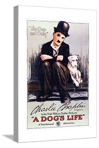 A Dog's Life - Movie Poster Reproduction Stampa su tela