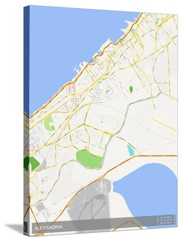 Alexandria, Egypt Map Photo at AllPosters.com