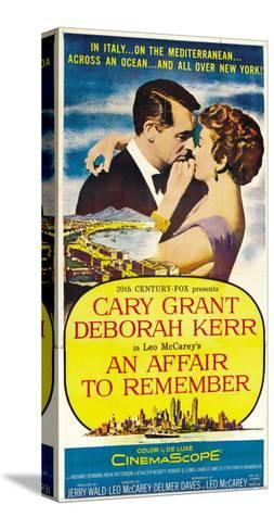 An Affair to Remember, 1957 Stretched Canvas Print