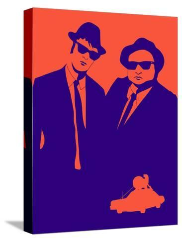 Brothers Poster Stretched Canvas Print