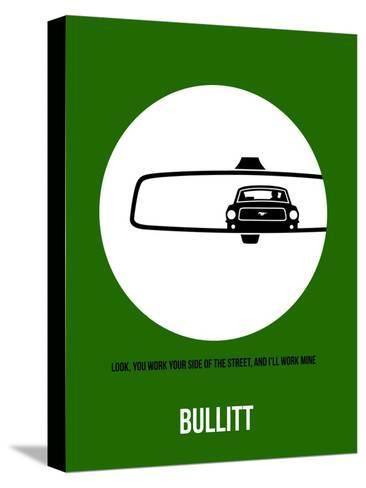 Bullitt Poster 2 Stretched Canvas Print
