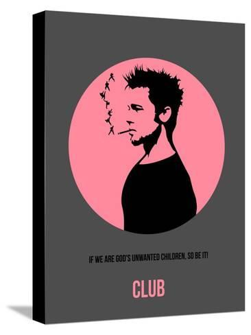 Club Poster 1 Stretched Canvas Print