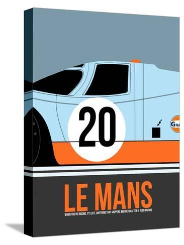 Le Mans Poster 2 Stretched Canvas Print