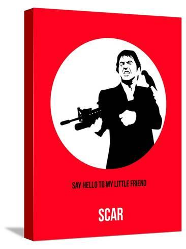 Scar Poster 2 Stretched Canvas Print
