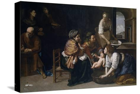 Artemisia Gentileschi The Birth of Saint John Baptist Giclee Paper Print Poster
