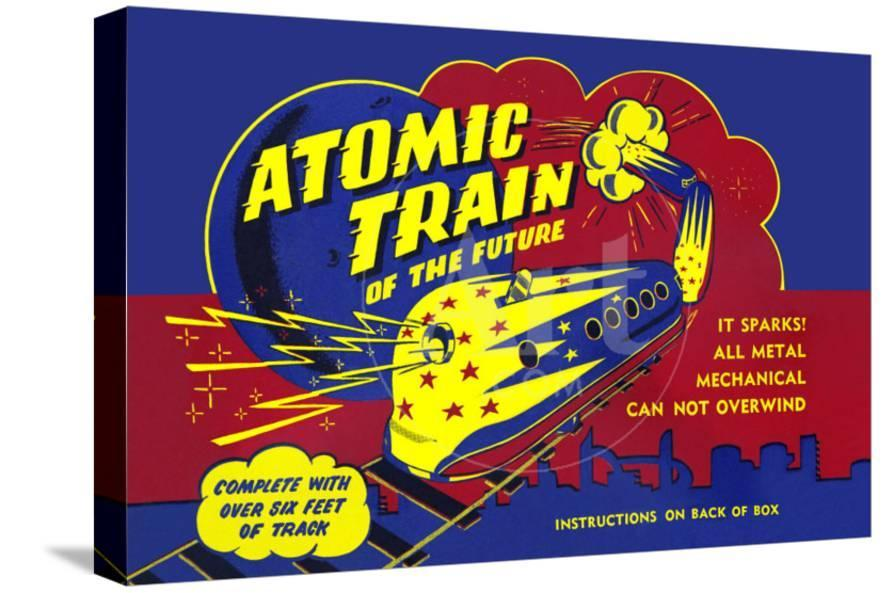 Atomic Train Of The Future Prints At Allposters