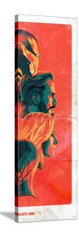 Avengers: Infinity War - Group Profiles Stampa su tela
