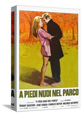 Barefoot in the Park, Italian Movie Poster, 1967 Stretched Canvas Print