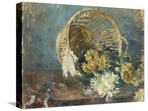 Chrysanthemums or the Overturned Basket, 1885 Reproducción de lámina sobre lienzo