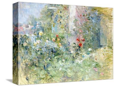 The Garden at Bougival, 1884 Reproducción de lámina sobre lienzo