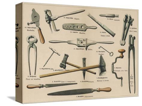 Blacksmith\'s Tools 1875 Giclee Print at AllPosters.com